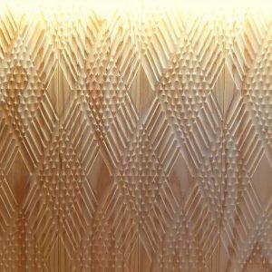 ダイヤ模様 デザイン 羽目板