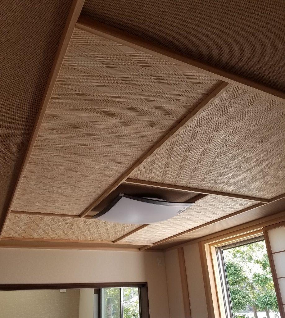 デザイン羽目板 和室天井